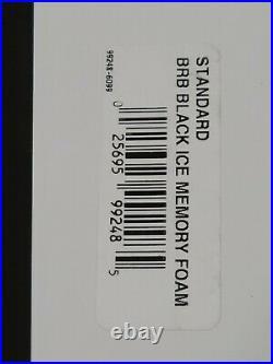 Beautyrest Black Ice Pillow Lux Living Standard Queen Bed Memory Foam New Box