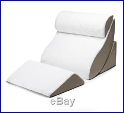 Bed Support Pillow for Sitting Up, Avana Kind Lumbar Posture Wedge Memory Foam