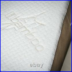 Bed Wedge Memory Foam Pillow with Removable Bamboo Cover, Extra Large