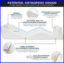 Bed Wedge Pillow Support Adjust Incline Relax Position Backmax Only Orthopedic
