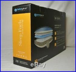 Bedgear Bgp42awbp Lightning 2.0 Performance Pillow for Back Sleepers Brand New