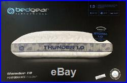 Bedgear Thunder Storm 1.0 Performance Cooling Cool Memory Foam Bed Pillow New