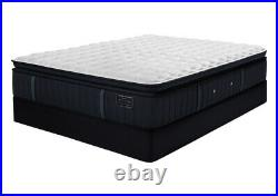 Beds & bolts Luxury pillow top memory foam hybrid pocket technology mattress