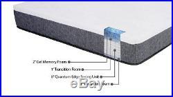 Best Memory Foam Mattress 12 Hybrid Pillow Top Gel Memory Foam Mattress by Bail