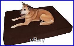 Big Barker 7 Pillow Top Orthopedic Dog Bed XL Size 52 X 36 X 7 Chocolate