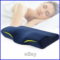 Blue Contour Memory Foam Pillow Ergonomic Cervical Orthopedic for Neck Pain(New)