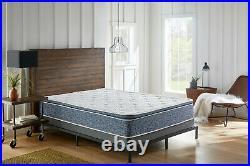 Blue Pillow Top Hybrid Gel Memory Foam 1 Piece Mattress Full Size 10 Inches