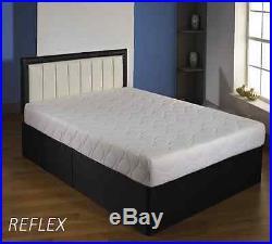 Brand New 7 Inch Reflex Memory All Foam Mattress + Free Pillows
