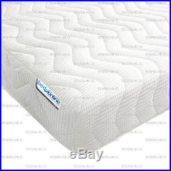 Brand New Luxury Memory Foam 3 Zone Mattress With 2 Free Pillows Sale Now On