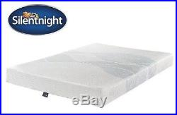 Brand New Silentnight 3-Zone Memory Foam Rolled Mattress King Size + two pillows