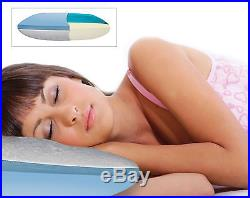 Broyhill Clima Comfort Reversible Gel Memory Foam Standard Pillow EUX1257