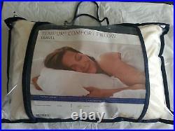 Bulk job lot 2 x His &Her Tempur neck supporting travel pillows comfortable new