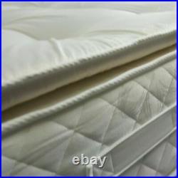 CLEARANCE 4FT6 King Size Memory Foam 3000 Deep Sprung Pillow Top Britsh Mattress