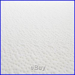 California King Size Cool Gel Memory Foam 14 Mattress With 2 Shredded Pillows
