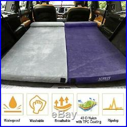 Camping Mattress Memory Foam Topper Bed, Sleeping Guest Bed With Pillow Porta