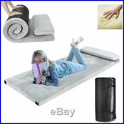 Camping Memory Foam Mattress Camping Sleeping Bed Pillow Portable Sleeping Pad