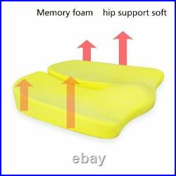 Car Seat Cushion Pillow Set Relieve Spine Back Hip Pad Auto Travel Accessories