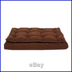 Carolina Pet Pillow Top Dog Bed in Chocolate, 48 L x 36 W