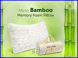 Clara Clark Rayon made from Bamboo Shredded Memory Foam Pillow King / Cal Kin