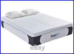 Classic Brands 14 inch Gel Memory Foam Mattress Full 410167 1130 With 2 Pillows