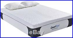 Classic Brands Cool 1.0 Ultimate Gel Memory Foam 14 + 2 Pillows Mattress Queen