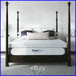 Classic Brands Cool 1.0 Ultimate Gel Memory Foam 14-Inch Bonus 2 Pillows Mattres