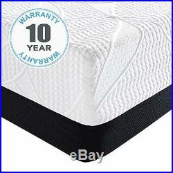 Classic Brands Cool 2.0 Ultimate Gel Memory Foam 14-Inch Bonus Pillow Mattres