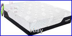 Classic Brands Cool Gel Chill Memory Foam 14-Inch Mattress With 2 Bonus Pillows