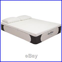 Classic Brands Mattress Memory Foam Ultimate Gel 14 Inch Full Size with Pillow New