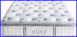 Classic Brands Mercer Pillow Top Cool Gel Memory Foam And Innerspring Hybrid 12