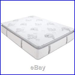 Classic Brands Mercer Pillow-Top Cool Gel Memory Foam and Innerspring Hybrid