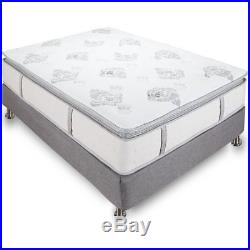 Classic Brands Mercer Pillow Top Cool Gel Memory Foam and Innerspring Hybrid