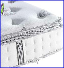 Classic Brands Mercer Pillow Top Cool L Memory Foam And Innersp Hybrid 12-Inch M