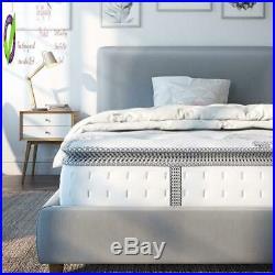 Classic Brands Mercer Pillow-Top Cool L Memory Foam And Innersp Hybrid 12 Mattr