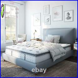 Classic Brands Mercer Pillow Top Cool L Memory Foam Innersp Hybrid 12-Inch Full