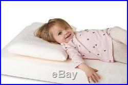 Clevamama Clevafoam Toddler Baby Pillow protect round shape babys soft head