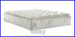 Coil Mattress Certified Foam Pillow Top and Soft Bamboo Mattress Cover, 13 King