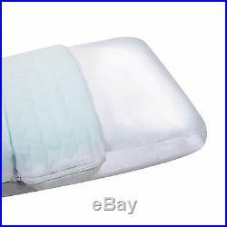 Comfort Revolution Hydraluxe Gel Cooling Pillow Case Green