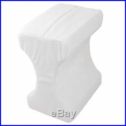 Contour Memory Foam Leg Pillow Orthopaedic Pillow Back Hips Knee Support+cover