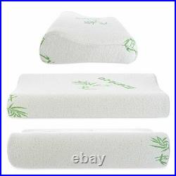 Contour Memory Foam Neck Back Pillow Support Orthopaedic Firm Head My Pillows