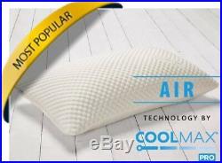 CoolMax Pillows Memory Foam Pillow NASA VISCO ELASTIC TECHNOLOGY MFPLX-0001