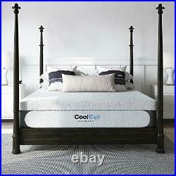 Cool Gel 1.0 Ultimate Gel Memory Foam 14-Inch Mattress with BONUS Pillow, Full