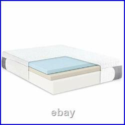 Cool Gel 1.0 Ultimate Gel Memory Foam 14-Inch Mattress with BONUS Pillow, Twin