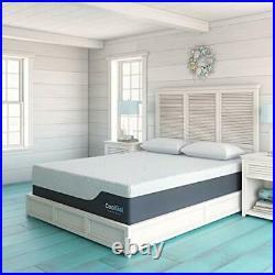 Cool Gel 2.0 Ultimate Gel Memory Foam 14-Inch Mattress with 2 BONUS Pillow, Qu
