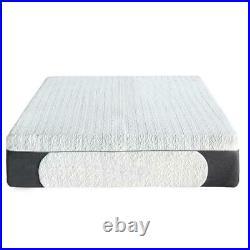 Cool Gel Memory Foam Indoor Mattress 2 Pillows Tight Top Ultra Plush Twin 10