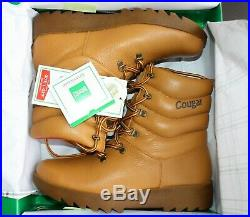 Cougar Original Tan Winter Boots NEW IN BOX Women's Pillow Boot Canada sz 9US