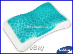 Cuscino Bedding Innogel Anatomico memory foam e gel sagomatura cervicale