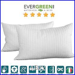 Evergreen Cuscini.Cuscino Guanciale Evergreenweb Memory Foam Saponetta Aloe Vera Con