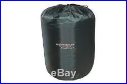Cyprinus Layzee Fishing Bedchair + 3 Season Sleeping Bag + memory foam pillow