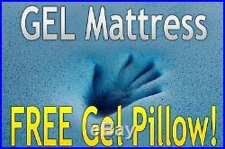 DYNASTY MATTRESS 10 FULL RV Camper GEL Memory Foam Mattress FREE 1 Gel Pillow